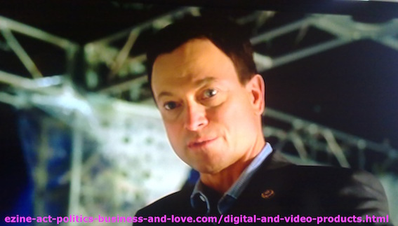 TVCinemaApp.com - Best TV Cinematography: Gary Sinise as Mac Taylor, CSI NY.