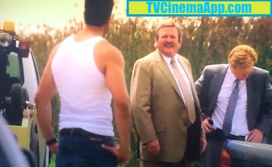TVCinemaApp.com - CSI Miami: Eric Delko (Adam Rodriguez), Detectives John Sully Sullivan (Brad Leland) and Horatio Caine (David Stephen Caruso).