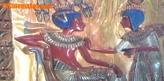 TVCinemaApp.com - Documentary Film: Ancient Egyptian god Tout Ankh Amon with wife.