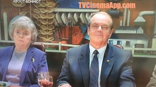 iWatchBestTVCinemaApp - Film Genre: Alexander Payne's About Schmidt, starring Jack Nicholson, Kathy Bates, Dermot Mulroney, Hope Davis, June Squibb, Len Cariou, Howard Hessman.