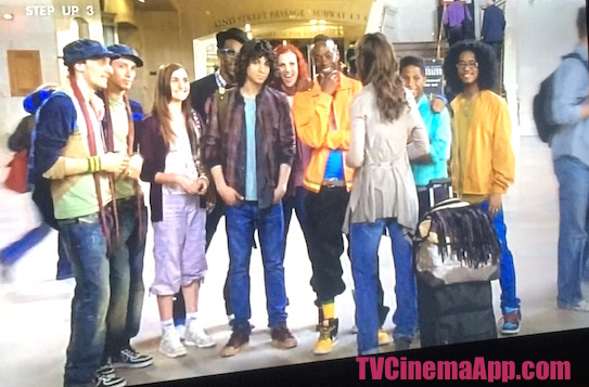 TVCinemaApp - Film Production: Jon M. Chu's Step Up 3D, The Pirates Dance Group.