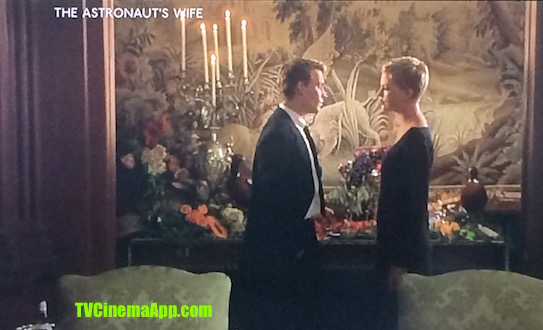 TVCinemaApp - Film Production: Rand Ravich's The Astronaut's Wife, Charlize Theron discussing with her husband Johnny Depp.