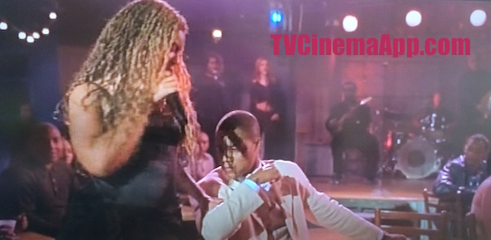 TVCinemaApp - Film Production: Jonathan Lynn's The Fighting Temptations, Beyonce treating Cuba Gooding while she was singing and dancing.