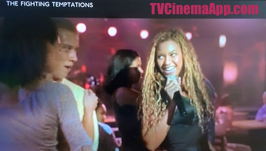 TVCinemaApp - Film Production: Jonathan Lynn's The Fighting Temptations, Beyonce singing.