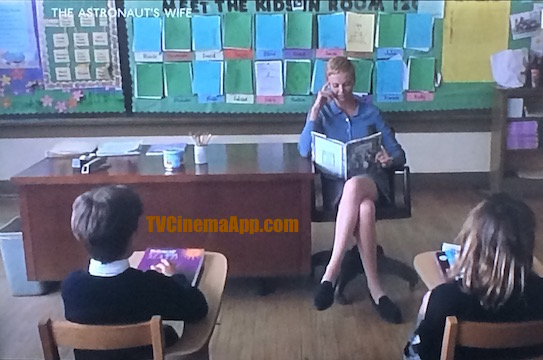 TVCinemaApp - Movie Production: Rand Ravich's The Astronaut's Wife, Charlize Theron teaching.