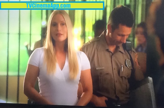 TVCinemaApp.com - CSI Miami: The First Time Calleigh Duquesne (Emily Procter) Came to Work with the Detectives in the Old Police Department.
