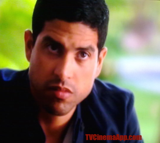 TVCinemaApp - Movie Production: CSI Miami, Adam Rodriquez acting detective Eric Delko in CSI Miami.