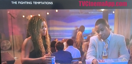 iWatchBestTVCinemaApp Musical Film: Jonathan Lynn's The Fighting Temptations, Beyonce Knowles chatting with Cuba Gooding and he was looking sad.