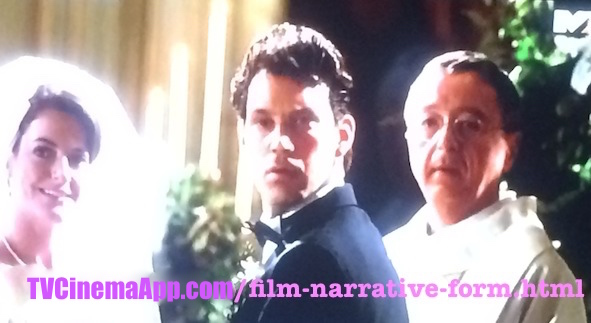 TVCinemaApp.com - Film Director: Wedding Ceremony in Glenn Gordon Caron's Picture Perfect, starred Jennifer Aniston, Jay Mohr, Kevin Bacon, Olympia Dukakis, Illeana Douglas.