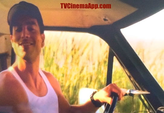 iWatchBestTVCinemaApp Prior CSI Miami: Eric Delko (Adam Rodriguez) driving his truck.