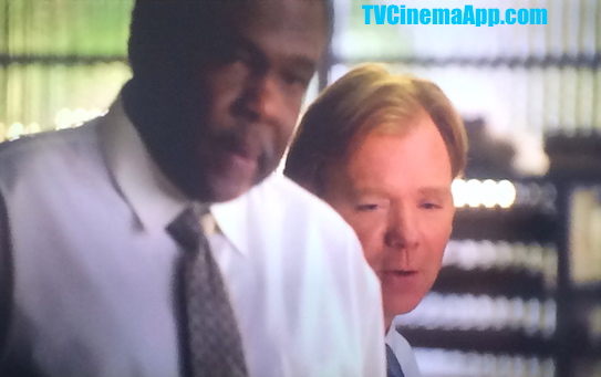 iWatchBestTVCinemaApp Prior CSI Miami: Horatio Caine (David Caruso) telling Fred Dorsey (Harold Sylvester) that they should listen to the new generation of crime investigators.