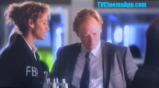 iWatchBestTVCinemaApp Prior CSI Miami: Horatio Caine (David Stephen Caruso) with an FBI Agent and Natalia Boa Vista (Eva LaRue).