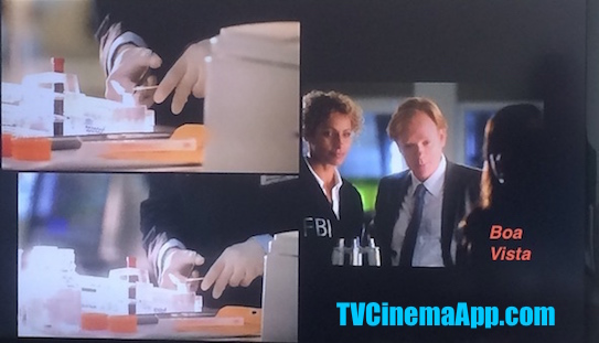 TVCinemaApp.com - CSI: The First Time Horatio Caine (David Stephen Caruso) and Natalia Boa Vista (Eva LaRue) Met While She was Working in Another Department.