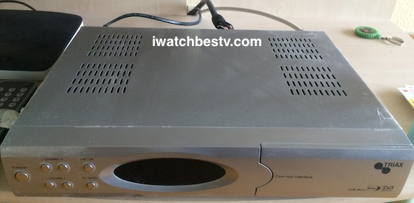 Digital Satellite TV: Digital Satellite TV Receiver TRIAX.
