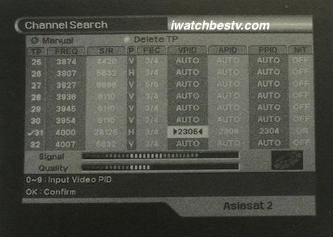 Free HD Satellite: The Manual Free HD Satellite Channel Search.
