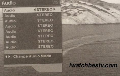 Free Satellite TV: Volume, Adio Control.