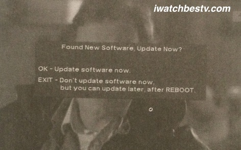 Satellite TV Installation: Finding Software Update.
