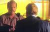 David Stephen Caruso (Horatio Caine) and Rex Maynard Linn (Frank Tripp) in CSI Miami.