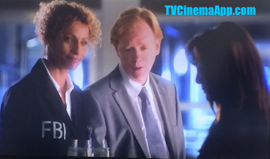 TVCinemaApp.com - CSI: David Caruso, Horatio Caine at the Beginning of the Serial with Natalia Boa Vista (Eva LaRue).