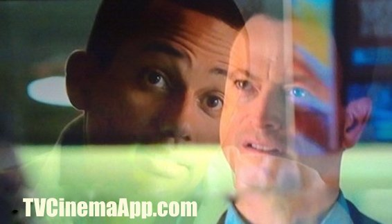 TVCinemaApp.com - Best TV Cinematography: Gary Sinise as Mac Taylor and Hill Harper as Dr. Sheldon Hawkes in the criminal investigation scene, CSI NY.