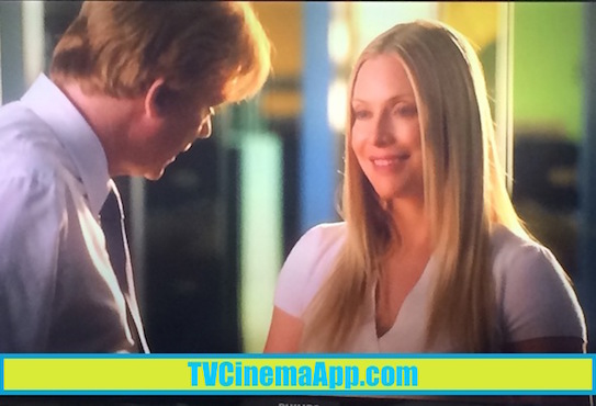 TVCinemaApp.com - CSI Miami: The First Time Calleigh Duquesne (Emily Procter) Met Horatio Caine (David Stephen Caruso) in the Old PD, Before Establishing the New CSI Lab in Miami.