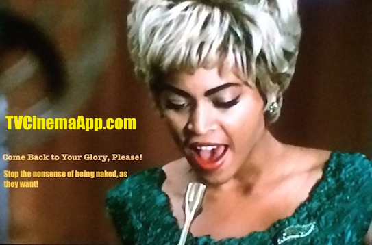TVCinemaApp - Movie Production: Darnell Martin's Cadillac Records, Beyonce Knowles, Singing to Etta James, I'd Rather Go Blind.