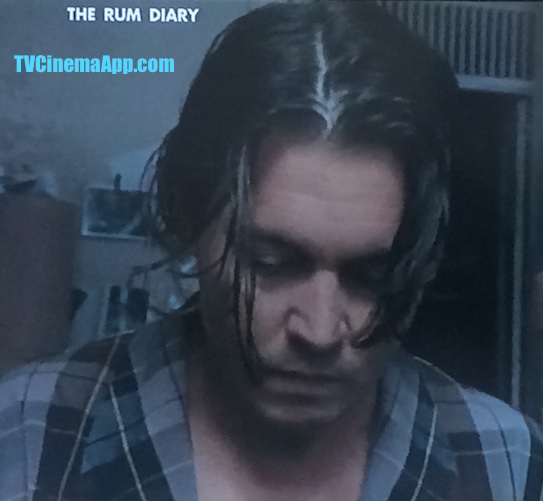 iWatchBestvTVCinemaApp - Film Form: Bruce Robinson's The Rum Diary, starring Johnny Depp, as an author Paul Kemp, Aaron Eckhart as Hal Sanderson a businessman, Michael Rispoli as Bob Sala.