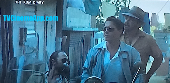 I Watch Best TV Photo Gallery: Bruce Robinson's The Rum Diary based on a novel by the same title written by Hunter S. Thompson in Puerto Rico, starring Johnny Depp, Aaron Eckhart, Michael Rispoli.