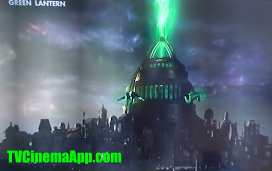 iWatchBest - TVCinemaApp: Horror Film, Martin Campbell's Green Lantern, the temple of the green power, starring Ryan Reynolds.