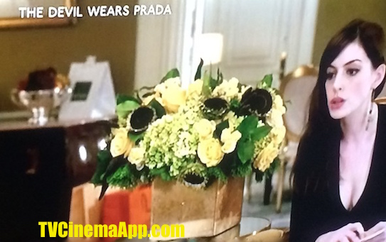 TVCinemaApp - Movie Production: David Frankel's The Devil Wears Prada, starred Anne Hathaway and Meryl Streep.