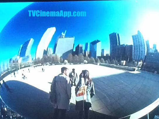 I Watch Best TV Cinema App - The Movie: Chicago Millennium Park's Cloud Gate, The Bean built by the Indian sculptor artist and architect Anish Kapoor.