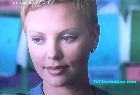 TV Cinema App: Charlize Theron Makes The Astronaut's Wife A Pleasure. This is Insane Beauty.