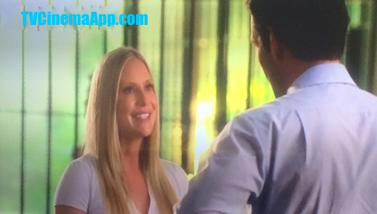 TVCinemaApp.com - CSI: Eddie Cibrian, as Detective Jesse Cardoza with Emily Procter, Detective Calleigh Duquesne When She Joined Miami Dade Police Department (MDPD)