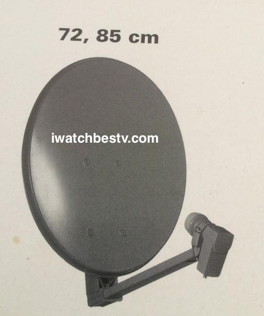 Digital Satellite TV: TRIAX Dish / Parabole, or TRIAX TV Parabola.