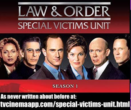 tvcinemaapp.com/special-victims-unit.html - Special Victims Unit (SVU): television crime series poster of actors.